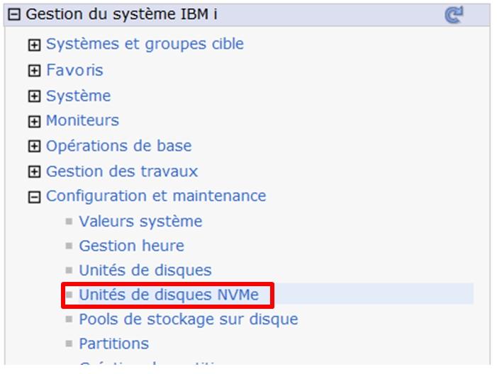 Quelques nouveautés IBM i 7 4 relatives à la gestion du
